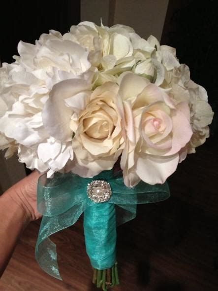 diy silk flower bouquet what do you ladies think