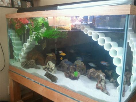 how to make fish tank decorations at home fish tank decorations for cichlids aquarium rock cave