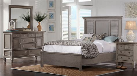 gray bedroom sets belmar gray 7 pc king bedroom king bedroom sets colors