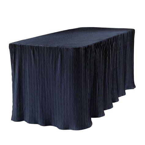 6 foot table cloth the folding table cloth 6 ft blue table cloth made for folding tables 3072blu the home depot