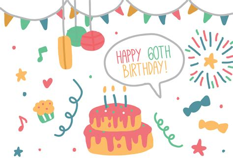 free vector birthday doodle birthday doodle free vector stock graphics