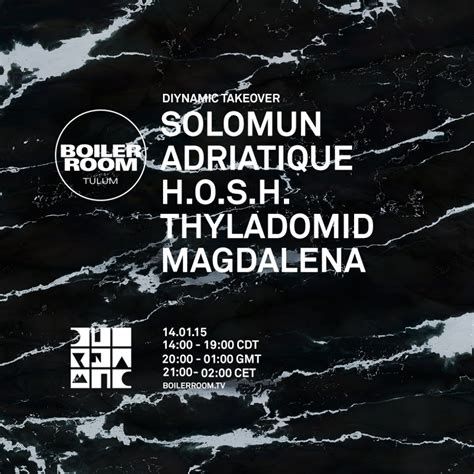 solomun boiler room diynamic family treasures boiler room