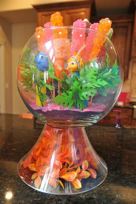 Finding Nemo Baby Shower Decorations by Finding Nemo Baby Shower Fish Bowl Decoration Disney