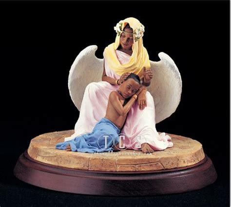 thomas blackshear the comforter ebony visions serenity african american fine art by thomas