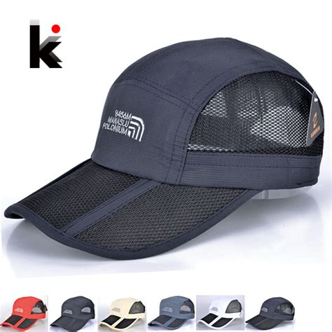 5 colors baseball cap and sports caps folding
