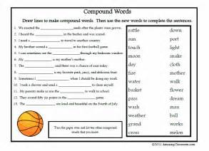 search results for compound words worksheet calendar 2015