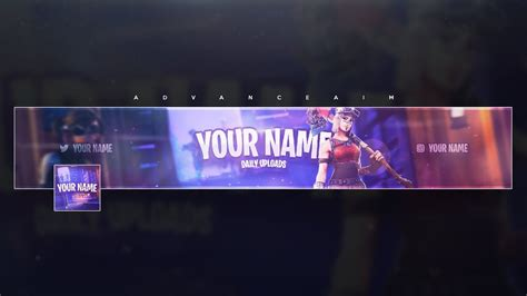 template banner fortnite fortnite banner template free tutorial doovi