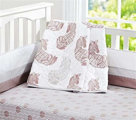 Zebra Nursery Bedding Sets Zebra Nursery Bedding Pottery Barn