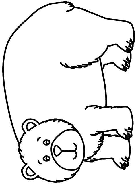 dltk bear coloring pages english is fun brown bear colouring activities