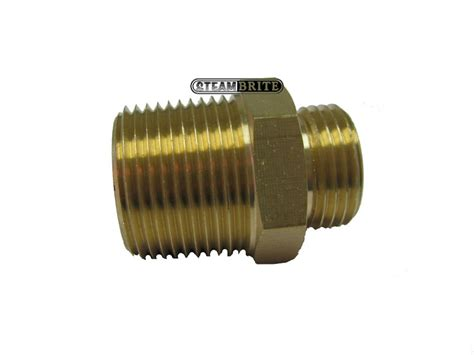 3 4 In Male Garden Hose X 1 In Mip Brass Adapter 30064