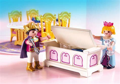 playmobil princess 5145 pas cher salle 224 manger royale