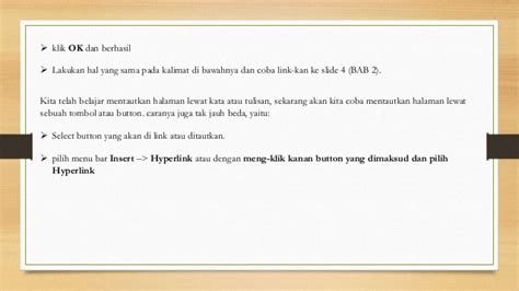 membuat tombol hyperlink powerpoint cara membuat hyperlink pada power point