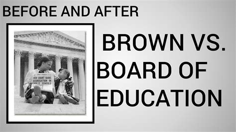 Brown V Board Of Education Essay by Brown Vs Board Of Education Thesis