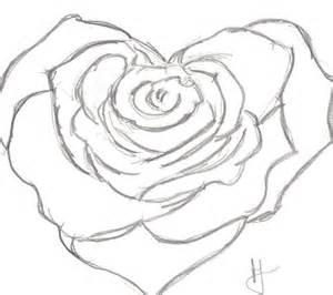 heart rose by halsie93 on deviantart