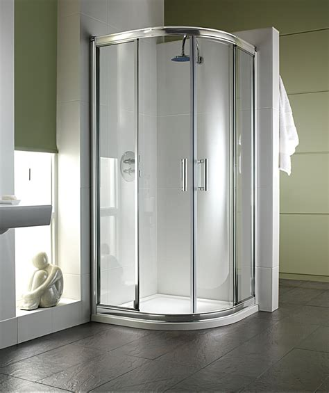 Twyford Shower Doors Twyford Hydr8 Quadrant Shower Enclosure 1000mm H86700cp
