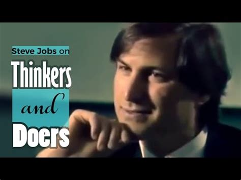 biography of steve jobs youtube steve jobs on thinkers and doers 2 mins of inspiration