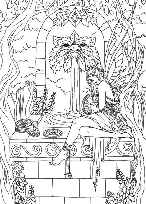 whimsical world 3 coloring book mythical sweetness fairies mermaids dragons and more books 17 best images about faries colouring coloring wings