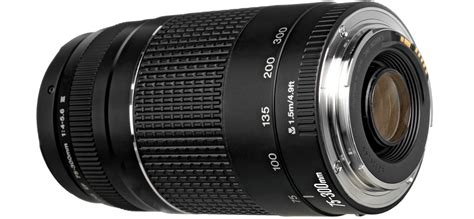 Lensa Canon Ef 75 300mm F 4 5 6 canon ef 75 300mm f 4 5 6 iii telephoto zoom lens review