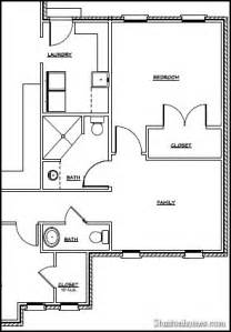 garage with inlaw suite plans