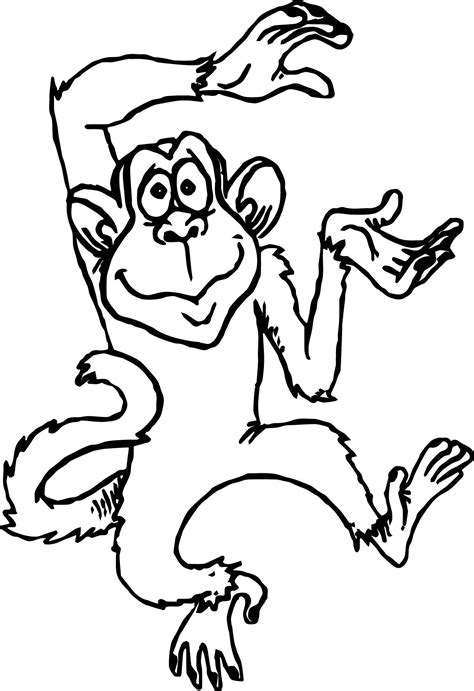 Coloring Book Monkey by Jungle Book Colouring Pages Bagheera Coloring Free