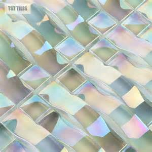 construction iridescent tiles glass mosaics tile