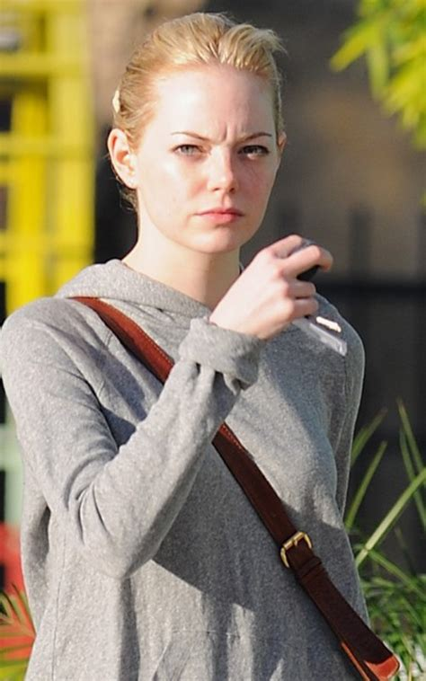 emma stone sister emma stone out getting prettied up at the salon