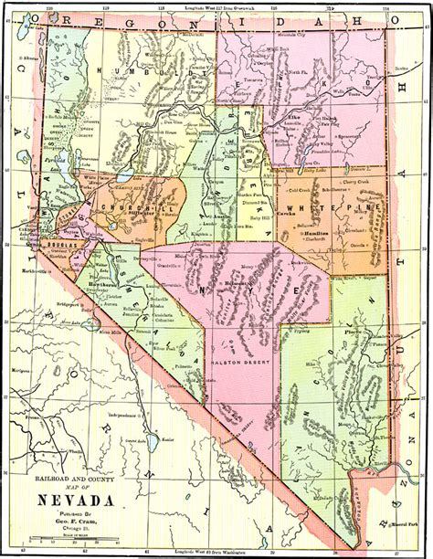 nevada physical map us map states nevada 28 images large detailed roads