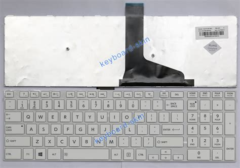 new for toshiba satellite c75 c75d c75d a c75 a series laptop keyboard white ebay
