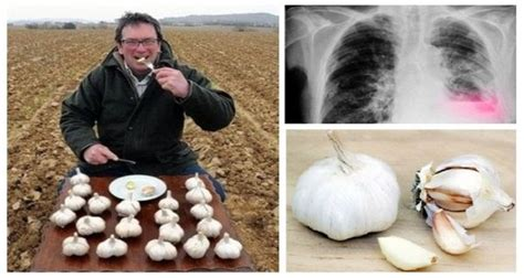 ate garlic garlic at this specific time of the day can help you clean your lungs