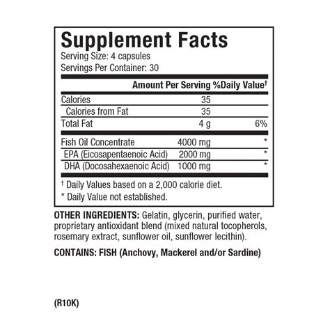 Suplemen Zone Dr Sears Zone Omegarx 2 Fish Capsules High Purity