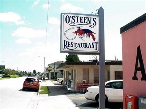 O'Steen's Restaurant, Saint Augustine - Menu, Prices ... O Steen S