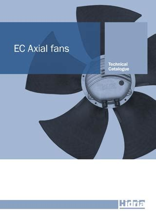 axial fan catalogue ec axial fans technical catalogue by hidria issuu