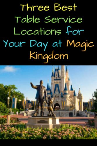 table service magic kingdom three best table service locations for your day at magic