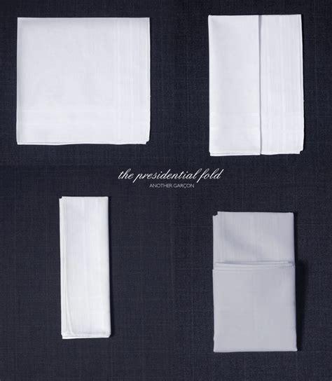 Dress Kemeja Pocket Square presidential handkerchief fold dress that up