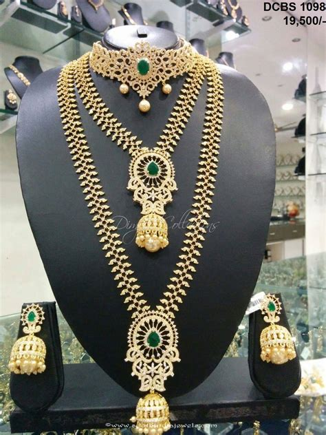 Fashion Bridal Jewelry Sets wedding jewelry sets for brides south indian style guru
