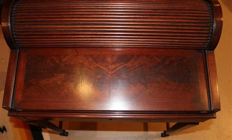 shaw furniture co roll top writing desk cambridge
