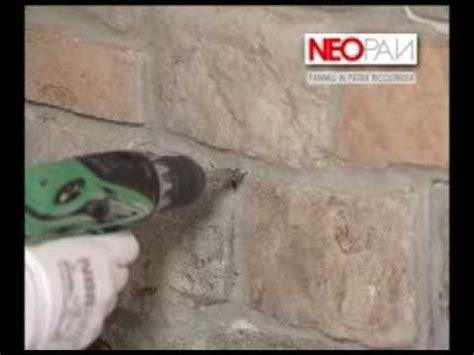 come rivestire un muro interno come rivestire un muro con i pannelli in finta pietra