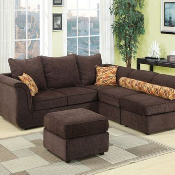 caisy 4 pc convertible sectional sofa set by acme best modular sectionals products on wanelo