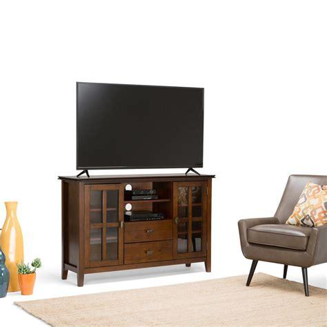simpli home artisan medium storage simpli home artisan medium auburn brown storage