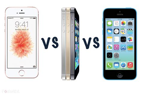 iphone 5 vs iphone 5s apple iphone se vs iphone 5s vs iphone 5c what s the