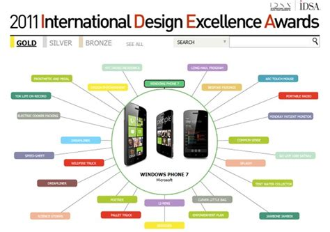 idea design excellence awards microsoft scoops 7 idea awards for design excellence