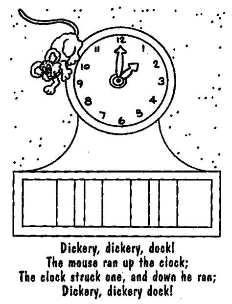 coloring page nursery rhymes nursery rhyme printables coloring page 17400