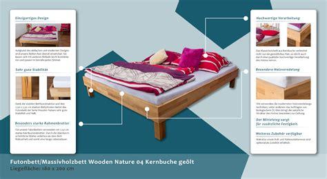 futonbett vorteile futonbett massivholzbett wooden nature 04 kernbuche