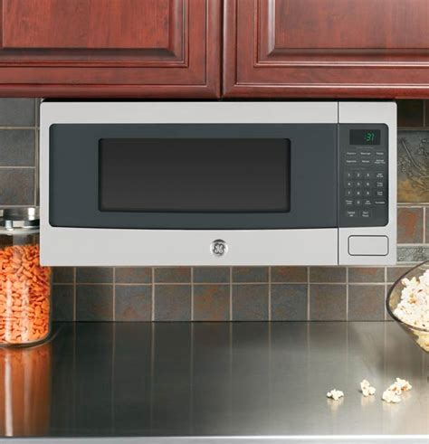 microwaves that can be mounted under cabinets built in microwave ovens ge appliances