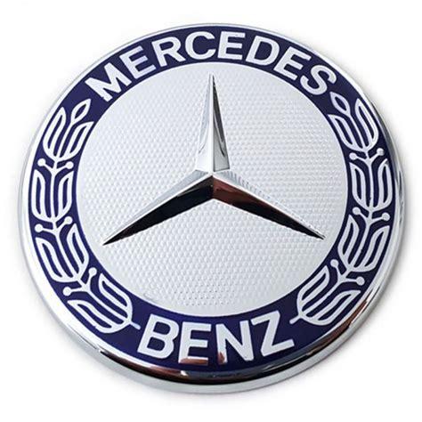 Emblem Metal Sticker Mercedes 5 5 Amg Logo 3d Silver Chrome mercedes sticker decal emblem bonnet a b c e g ml amg sl slk ebay
