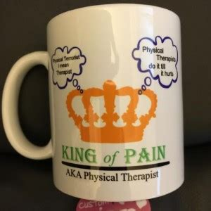 Listen To Your Mug Left Side physical therapy mug aftcra