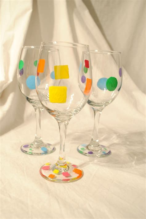 Decorated Wine Glass by Decorated Wine Glasses Gifts