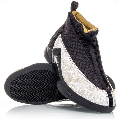 vintage basketball shoes air 15 retro ls mens basketball shoes black