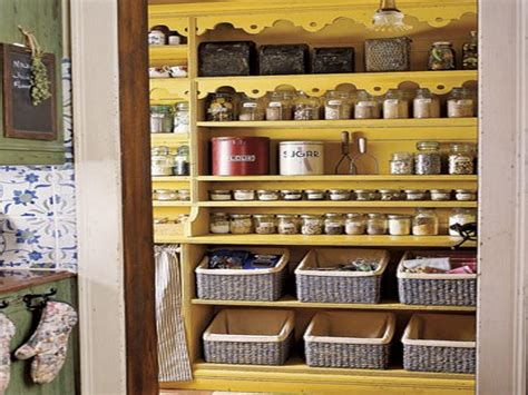 storage pantry organized shelves ideas for kitchen