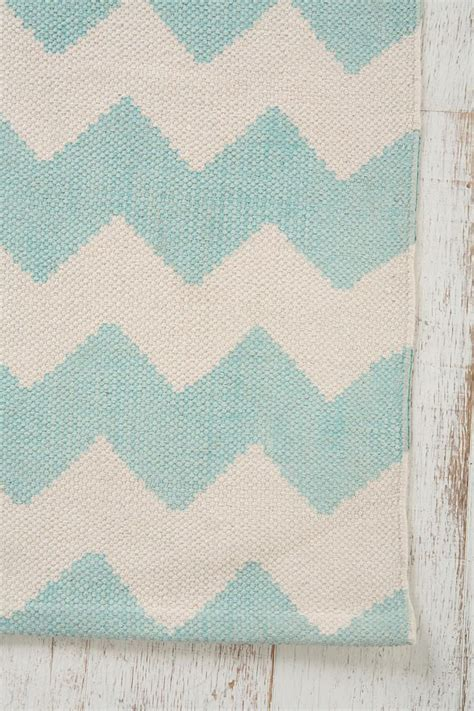 blue zig zag rug assembly home zigzag printed rug